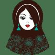 логотип Матрёшка